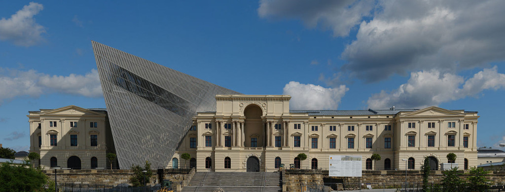 Military history museum in Dresden