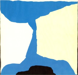 Aba No.1 122x127cm, 1975, oil on canvas